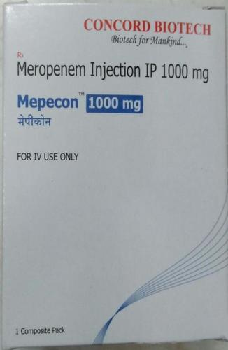 Meropenem Injection IP 1000 Mg