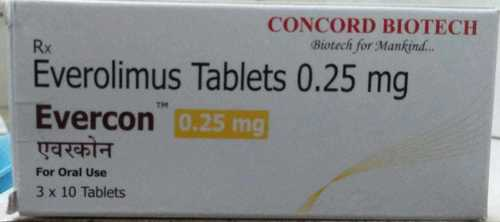 Everolimus Tablets 0.25mg