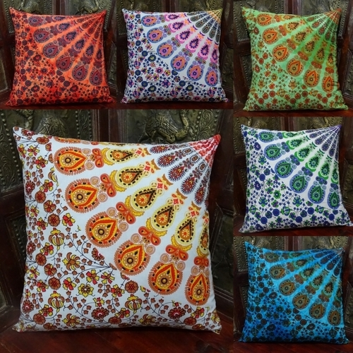 Mandala Printed Cushion Cover