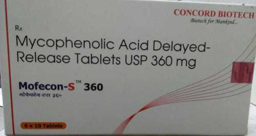 Mycophenolic Acid Delayed Release Tablets USP 360 mg