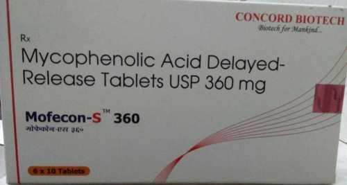 Mycophenolic Acid Delayed Release Tablets USP 360 mg