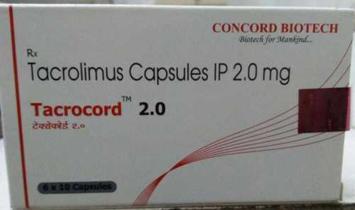 Tacrolimus Capsules IP 2.0 mg