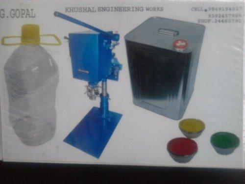 oil tin cap sealing machine