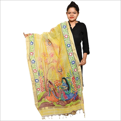 Chanderi Hand Work Dupatta