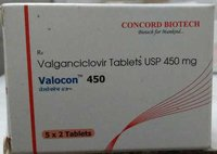 Valganciclovir Tablets USP 450mg