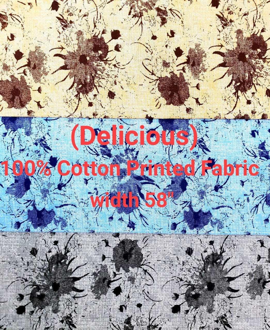 Delicious 100% cotton