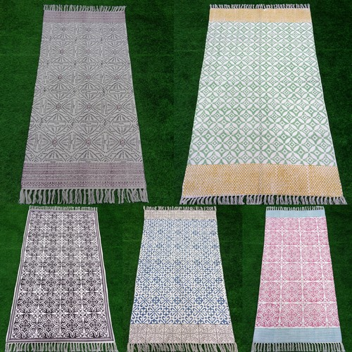 Reversible Printed Rugs