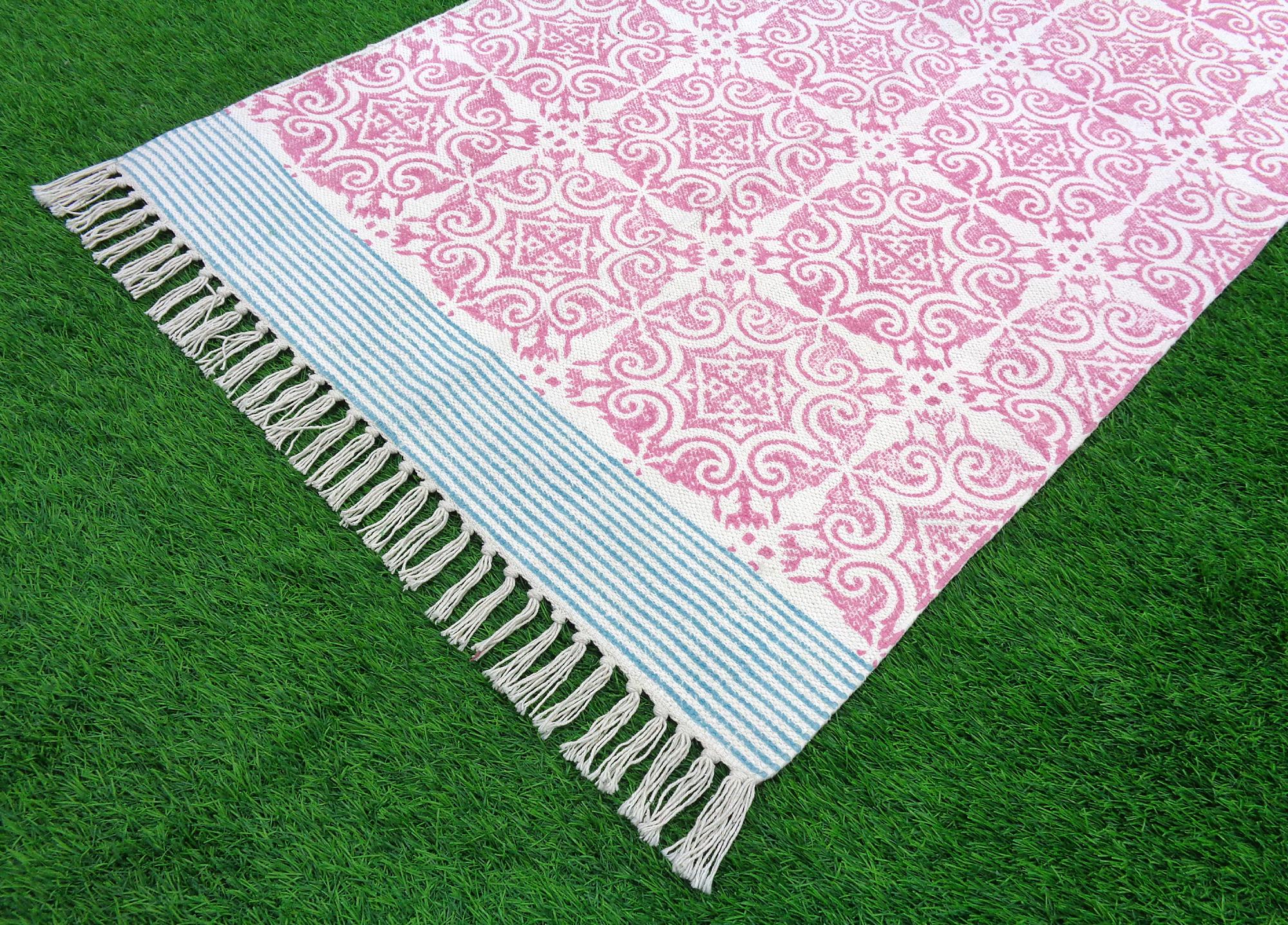 Reversible Printed Rugs