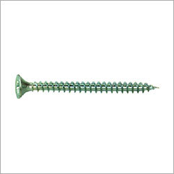 Silver Chipboard Screw