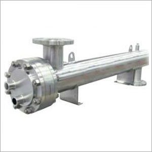 Sanitary Shell And Tube Heat Exchanger