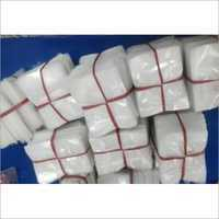 White LDPE Packaging Bags