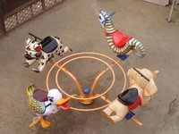 Animal Figure Merry Go Round