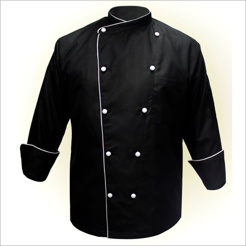 Mens Black Chef Coat
