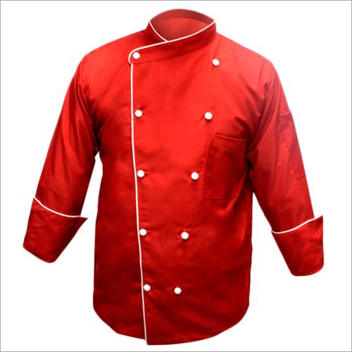 Mens Red Chef Coat