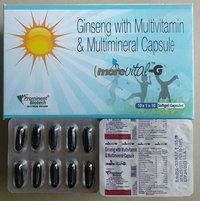 Antioxidants with Ginseng,Multivitamins & Multiminerals