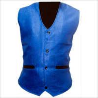 Mens Blue Waistcoat