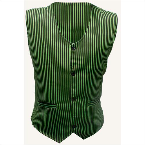 Mens Green Waistcoat