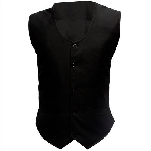 Mens Half Black Waistcoat