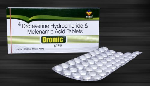 Drotaverine 80 mg & Mefenamic Acid 250 mg Tablets