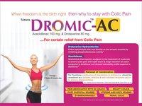 Drotaverine 80 mg & Aceclofenac 100 mg Tablet