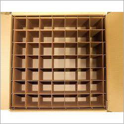 Plain Partition Corrugated Box