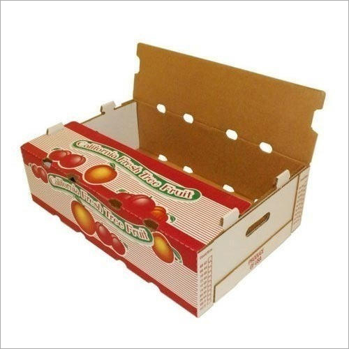 Printed Fruit Packaging Corrugated Box