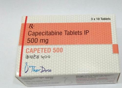 Capecitabine Tablets 500 mg