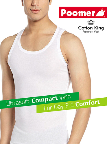 Mens poomer Cotton Inner Vest