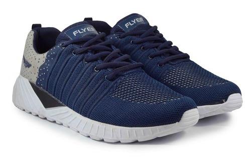 Mens Flyknit Blue Running Shoes