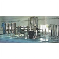 Mineral Water Purification Plant