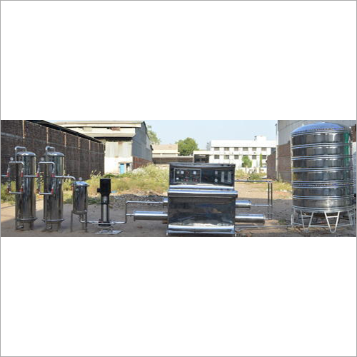 Automatic Industrial Mineral Water Turnkey Plant
