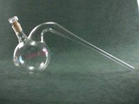 Retorts with interchangeable stopper (Laboratory Glassware)