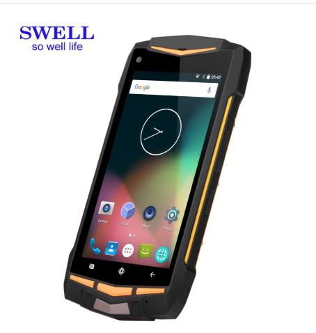 Waterproof IP68 RUGGED Smartphone RFID NFC With Two Way Radio