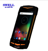 Waterproof IP68 RUGGED Smartphone RFID NFC With Two Way Radio