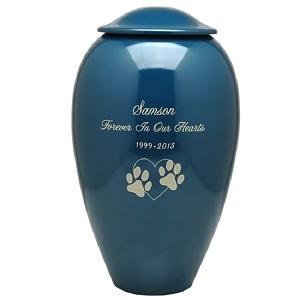 New Premium Pet Cremation Urn- Beautiful