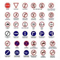 Retro Reflective road sign Boards