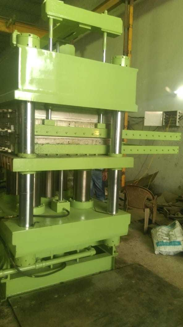 Single Station Hydraulic Rubber Moulding Press
