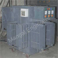 Three Phase 5000 kVA Automatic Controlled Oil Cooled Voltage Stabilizer
