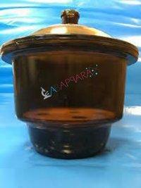 Dessicator Plain Amber Colour