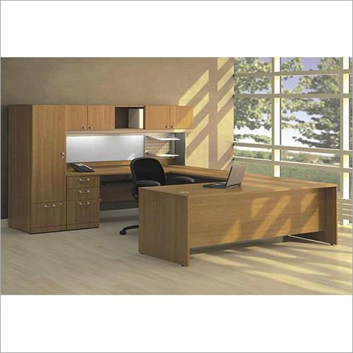 Hardwood Modular Workstation Desk