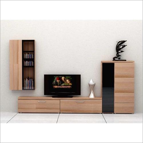 Hardwood Modular TV Cabinet
