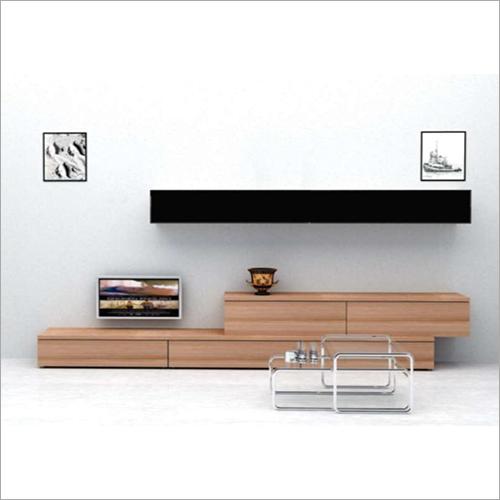 Modular Showcase LED TV Cabinet