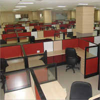 Office Interior Desk Partition