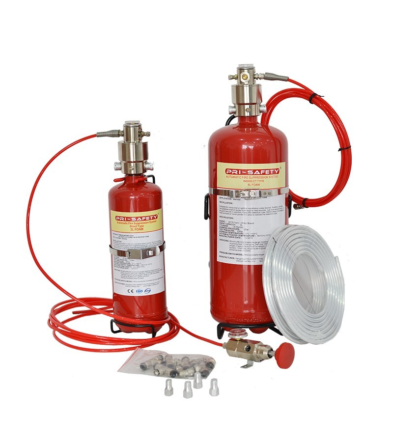 Fire Suppression System for Server Room