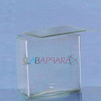 Jars, Rectangular, Museum, Neutral glass with glass cover