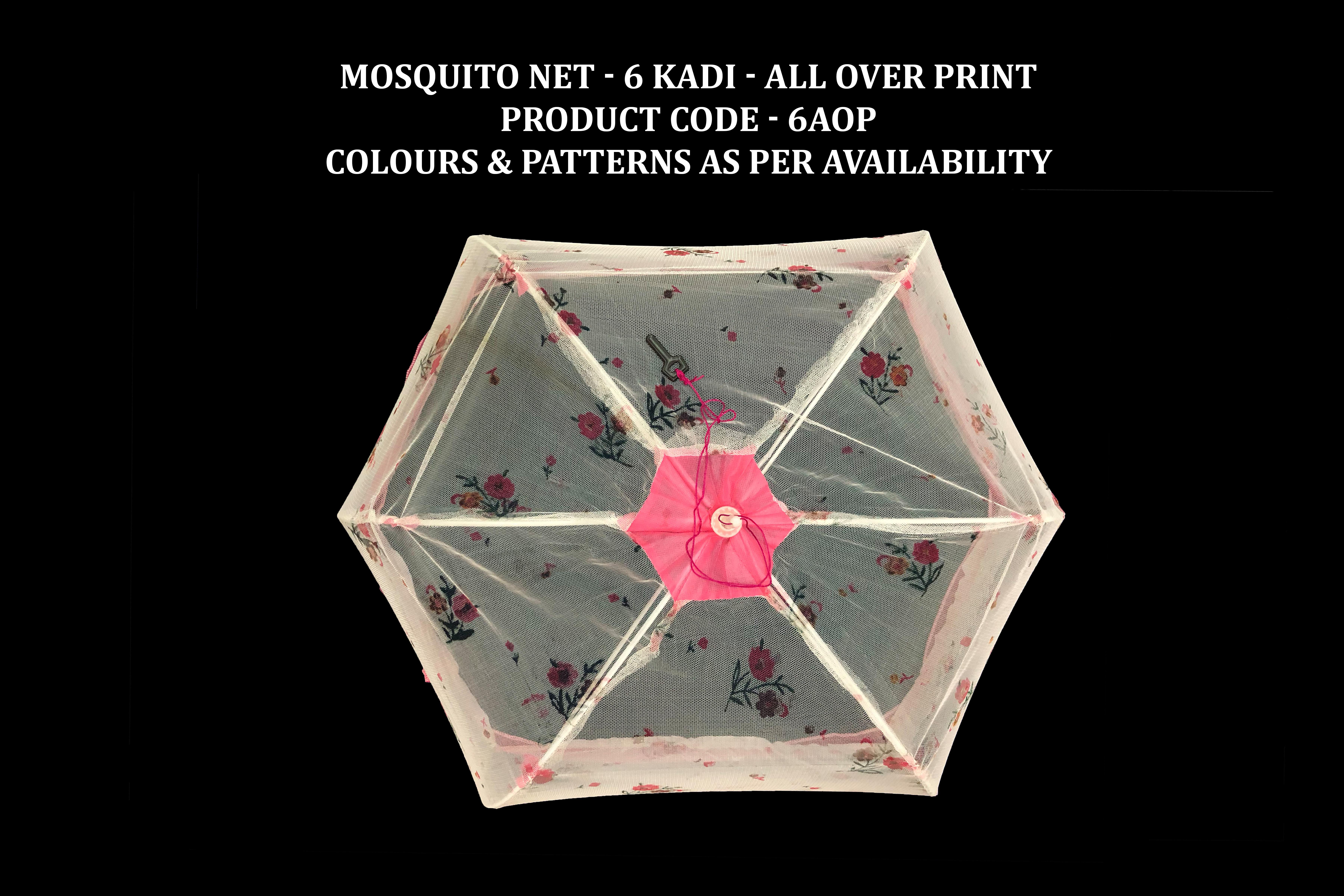 Mosquito Net - 6 Kadi Plain