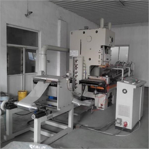 Automatic Aluminium Foil Container Machine