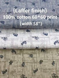 Laffer Finish 100% cotton 60*60 print