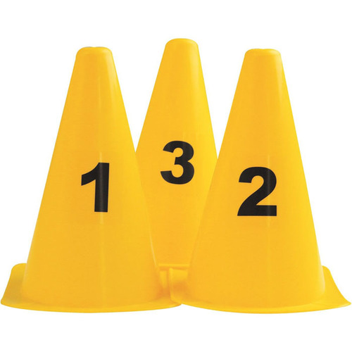 Numbered Cones