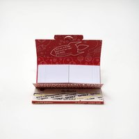 One 1/4 Plustips Bleached White Rolling Paper